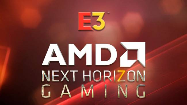 amd e3 next horizon gaming
