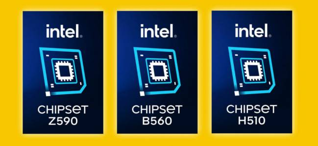 intel logo chipset 500