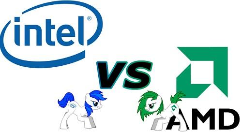 intel vs amd licornes