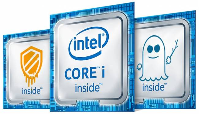 logo intel meltdown spectre