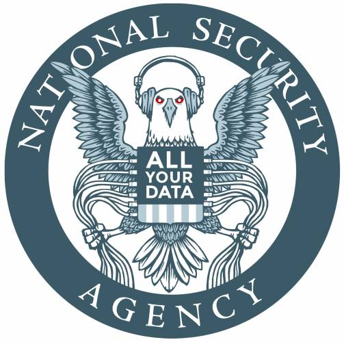 nsa logo all your data