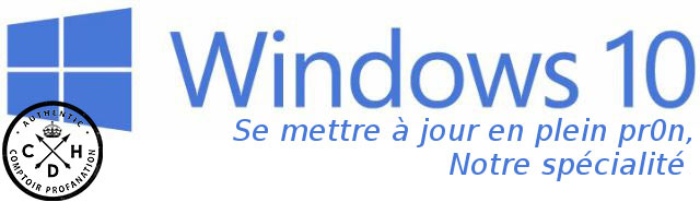 windows10 logo blague maj