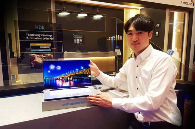 """Des dalles OLED pour ordinateurs portables chez Samsung en 15,6"""""""