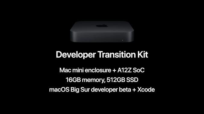 apple arm developper kit 2020