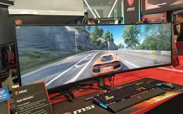 msi optix mag491c computex
