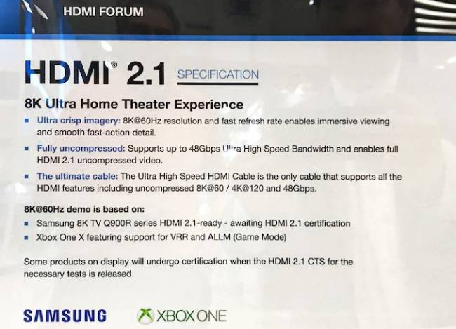 hdmi forum hdmi 2 1 specification