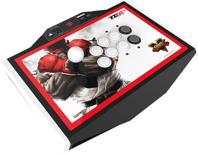mad catz sf5 arcade fightstick te2plus
