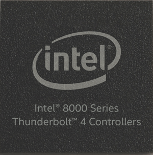 intel 8000 series thunderbolt 4 controller
