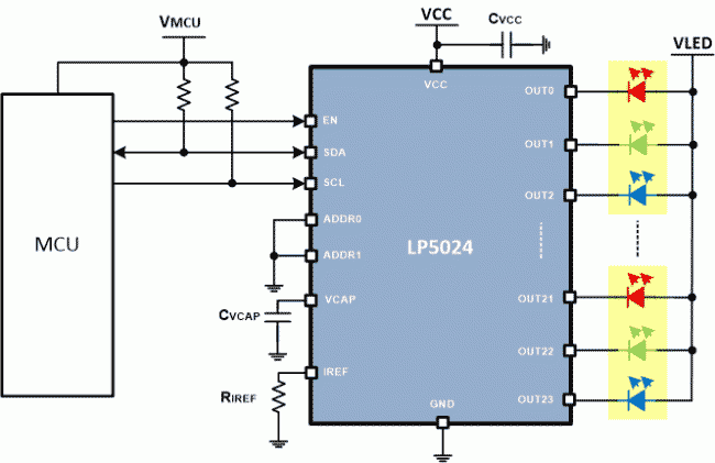 ti lp5018 schematic