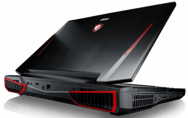 msi laptop gt86vr titan rear