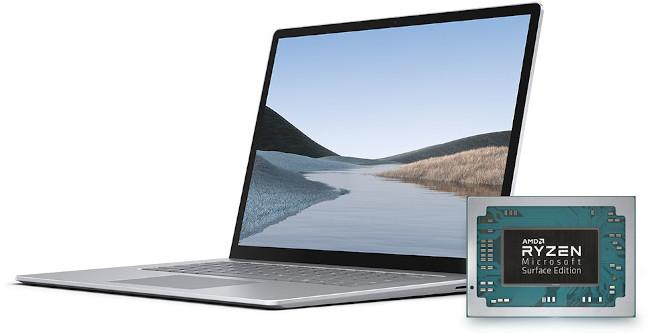 surface laptop 3 amd cpu