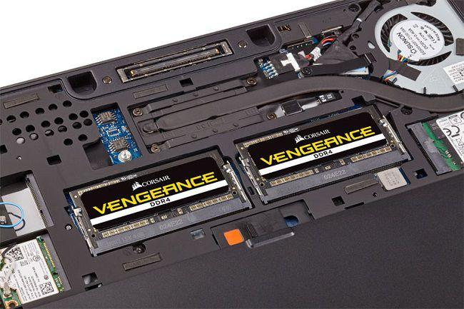corsair vengeance ddr4 sodimm 4000mhz laptop