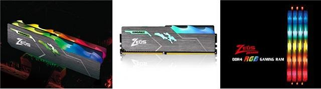 kingmax ddr4 zeus dragon rgb