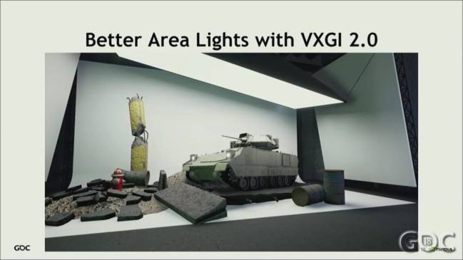 vxgi2 area lights