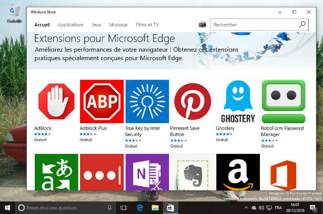 windows10 14986 edge