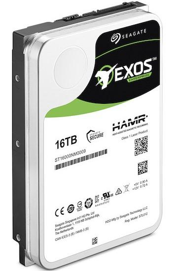 seagate exos 16to hamr
