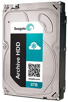 seagate archive 8 to