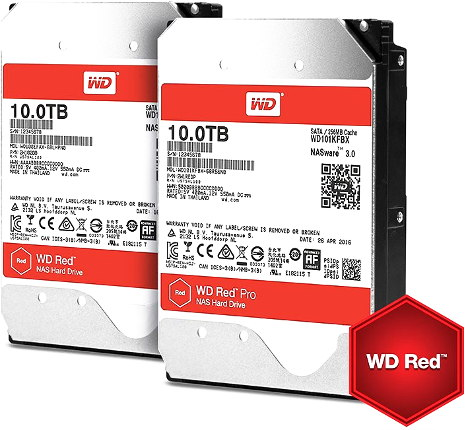 wd red 10to