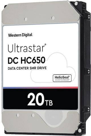 western digital ultrastar dc hc650 20to