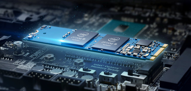 intel optane memoire