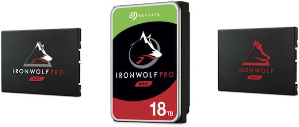 seagate ironwolf nas hdd ssd