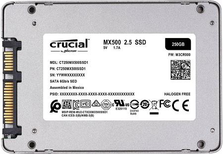 crucial mx 500 recto
