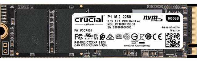 crucial ssd p1 serie