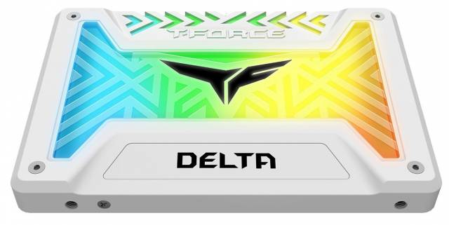 teamgroup tforce delta ssd rgb white