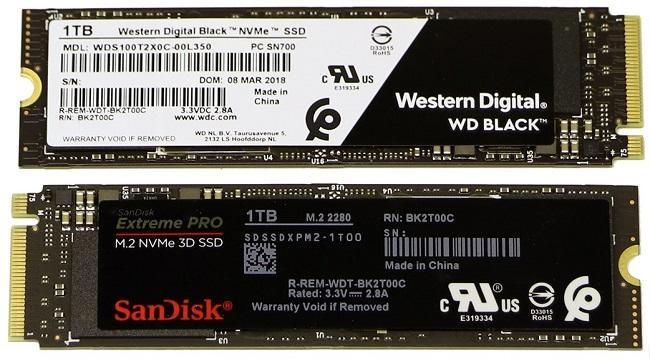 wd sandisk ssd nvme 3d nand 1to