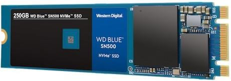 western digital ssd nvme sn500 blue
