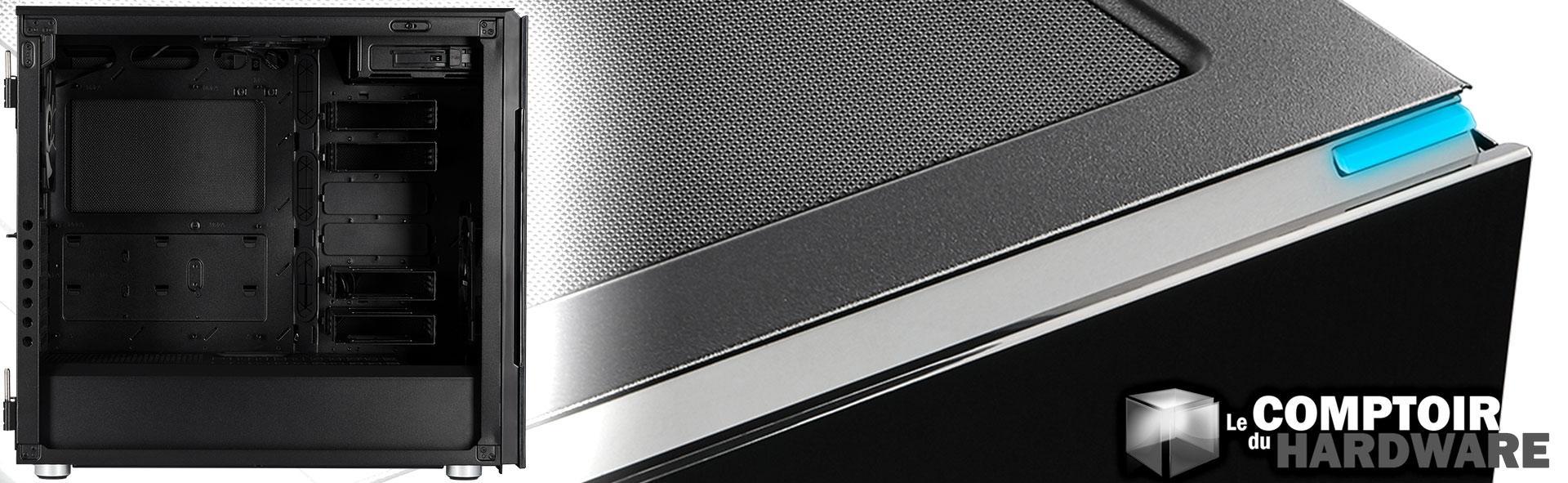 test corsair carbide 678c le comptoir du hardware. Black Bedroom Furniture Sets. Home Design Ideas