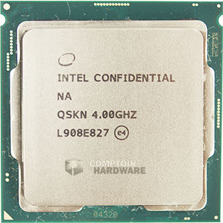 Core i9-9900KS face avant