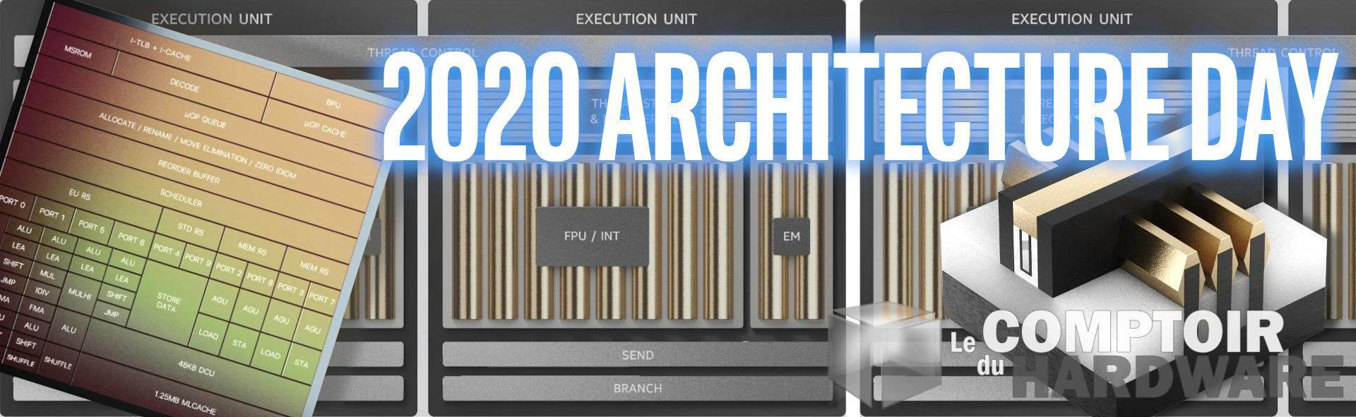 """Intel Architecture Day 2020 """" Les nouveaux plans des bleus, 18 mois plus tard"""