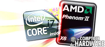 test Core i7-980X et AMD Phenom II X6 1090T