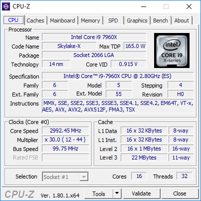 cpuz 7960x turbo throttle