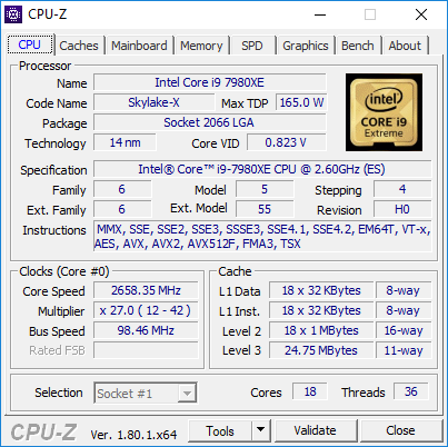 cpuz 7980xe turbo throttle