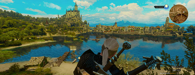 Capture d'écran The Witcher III Blood and Wine [cliquer pour agrandir]