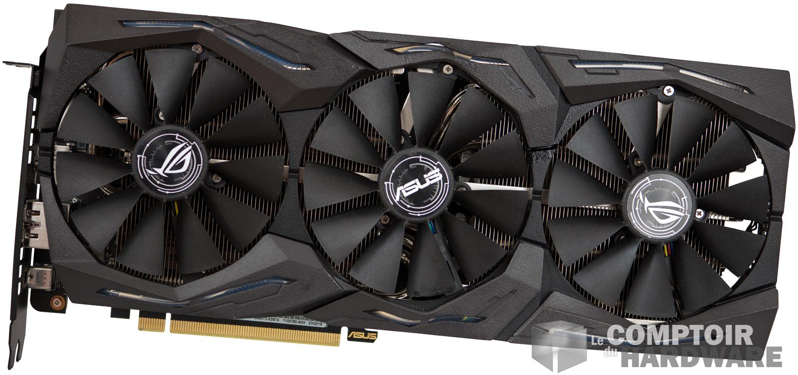 asus rog strix gaming rtx 2070 face