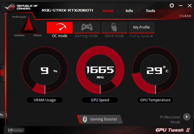 asus rog strix gaming rtx 2080 ti gpu tweak