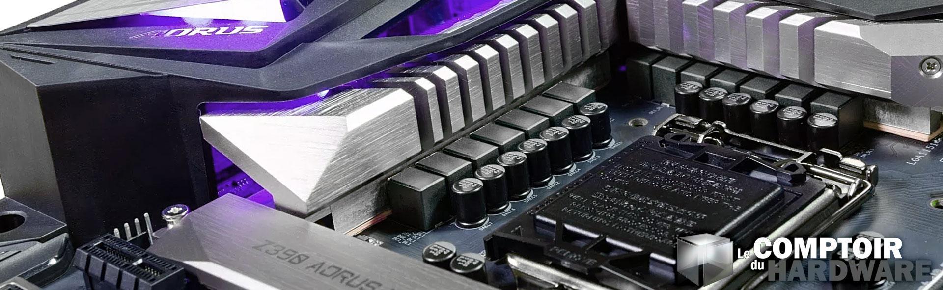test gigabyte aorus z390 master le comptoir du hardware. Black Bedroom Furniture Sets. Home Design Ideas