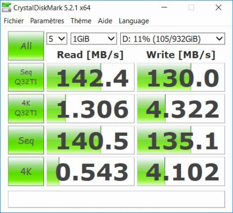 HDD Crystal Disk Info [cliquer pour agrandir]