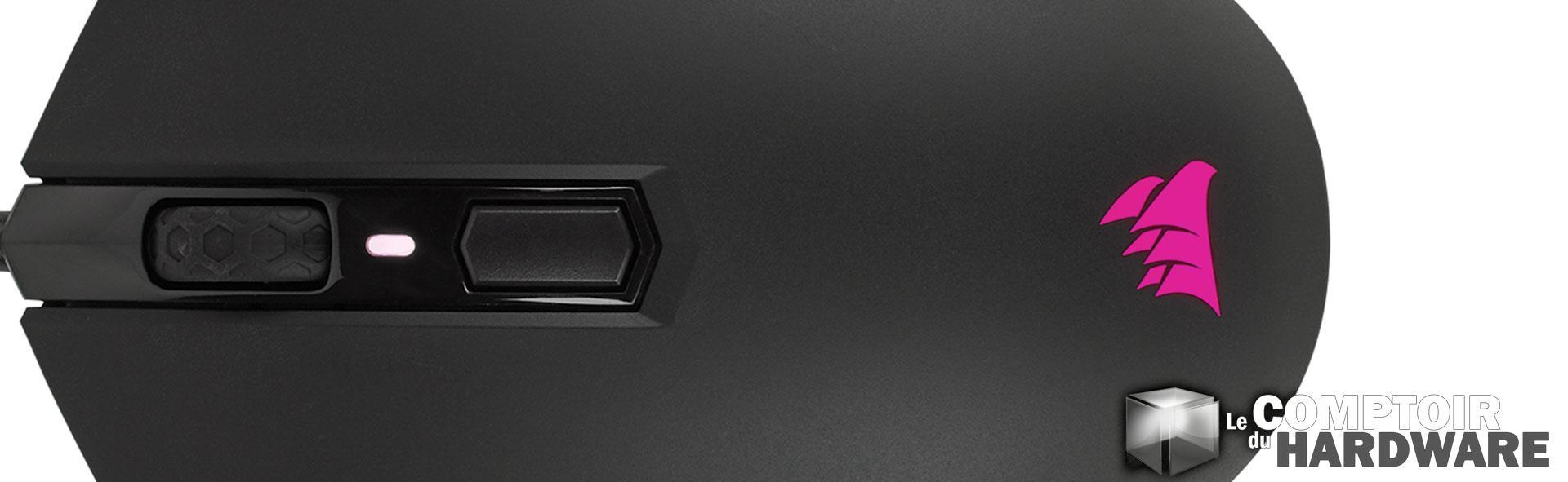 nous avons essay corsair m55 rgb pro le comptoir du. Black Bedroom Furniture Sets. Home Design Ideas